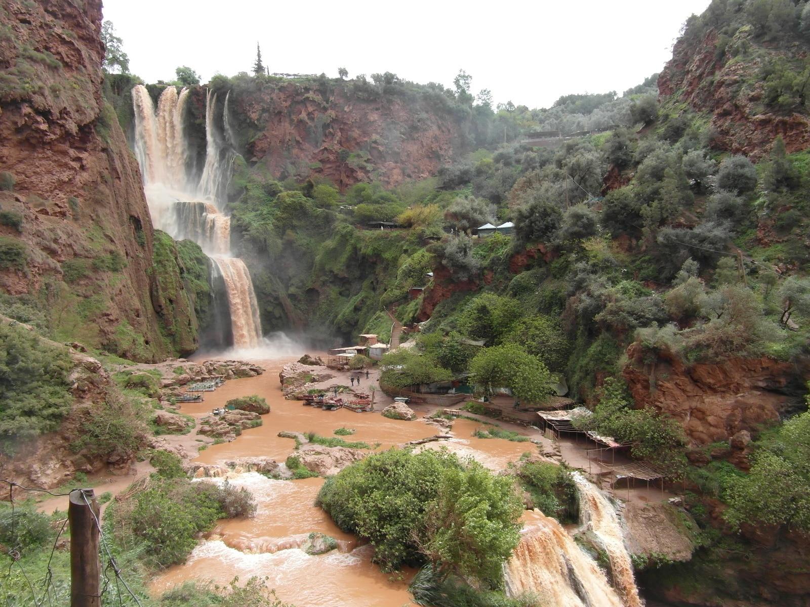 cascades d'Ouzoud