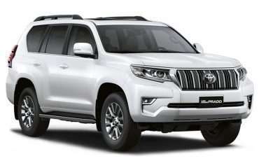 Toyota Land Cruiser Prado rental with driver – 6 pax