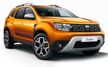 Rent Dacia Duster 4WD with driver – 4 pax